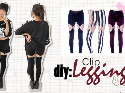 DIY: Clip Leggings
