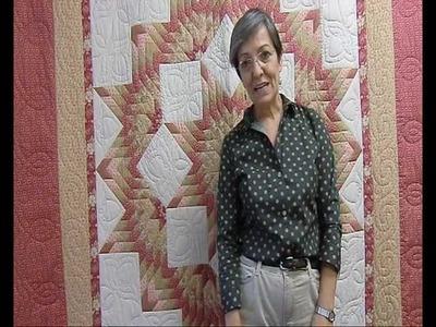 Finalizar un biés en una colcha patchwork - www.trozicos.com