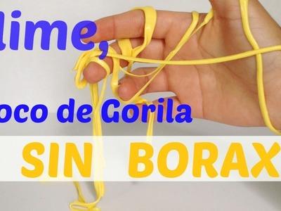 Moco de gorila sin borax (en polvo)