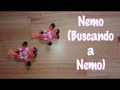 Nemo de gomitas con telar  Buscando a Nemo