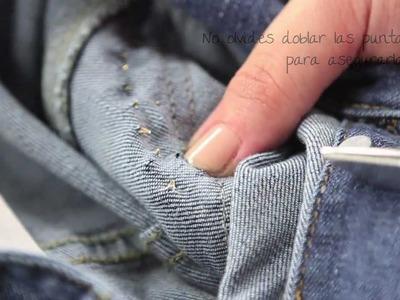 Personaliza Tus Prendas #3: Tutorial Casaca con parches, desgastado y tachas