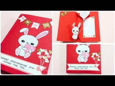 Tarjeta \dia del Amor y la Amistad\San Valentin\original\POP-UP