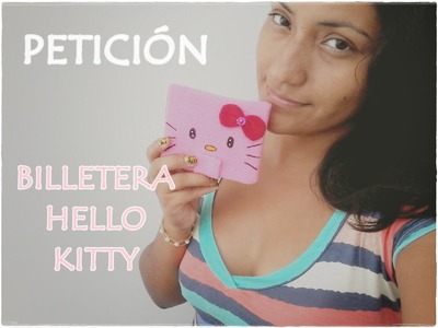 BILLETERA HELLO KITTY. Petición