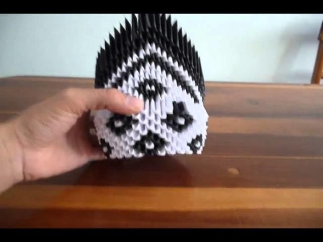 Cisne Origami 3D