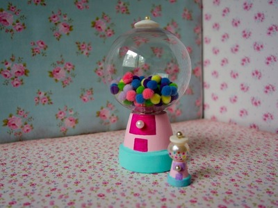 Cómo hacer una mini máquina de chicles o dulces