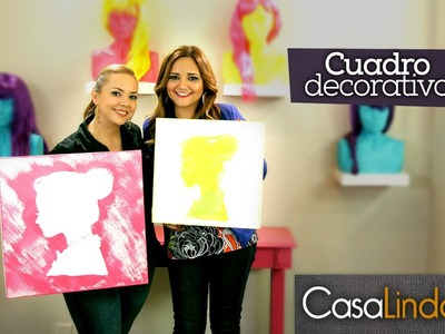 Cómo Pintar Cuadros Decorativos (DIY) - Casa Linda y Gabytips (Episodio 7)