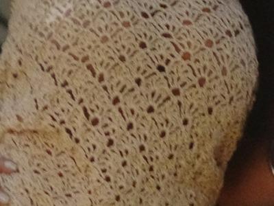 Como Tejer blusa a crochet punto calado