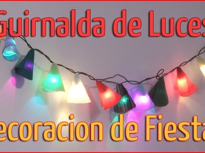 Decoración de fiestas: Guirnaldas de luces - Manualidades para todos