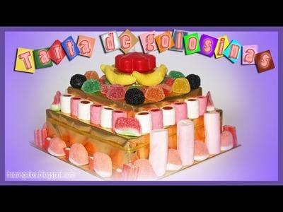 Fabulosa Tarta de Golosinas - DIY - Candy Cake