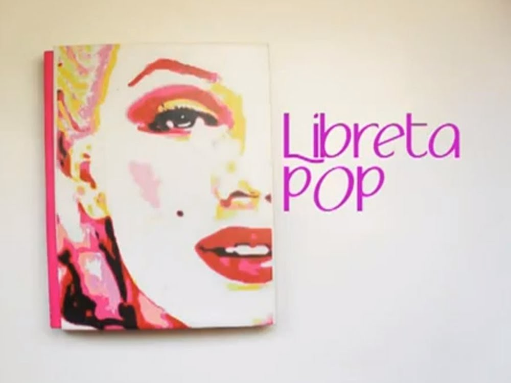 Libreta Pop-Art ♡ Bruja Creativa
