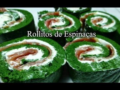 Rollo de Espinacas (Receta Fácil)
