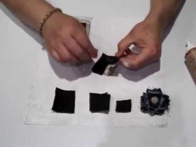 Tuto-scrap: cómo hacer  flores de tela.  Recicla tus retales.