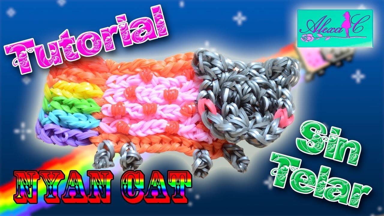 ♥ Tutorial: Nyan Cat de gomitas (sin telar) ♥