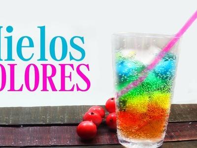 BEBIDA  HIELOS DE COLORES