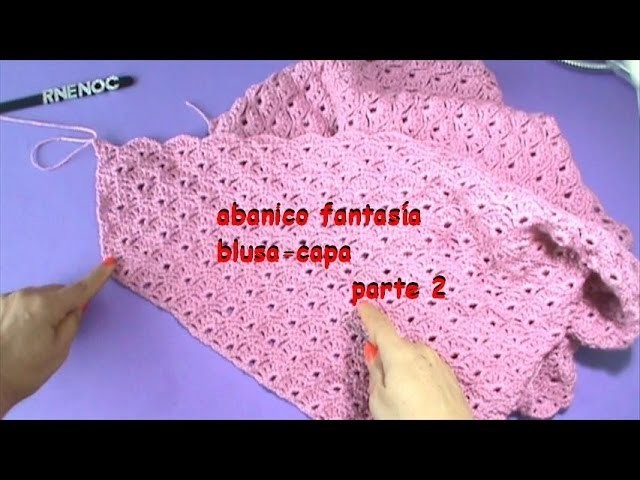 Blusa triangular, fácil de tejer GANCHILLO PARTE 2