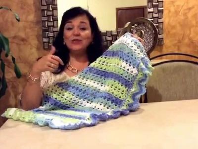 Colchita Santi - Tejido con gancho - Tejiendo con Laura Cepeda