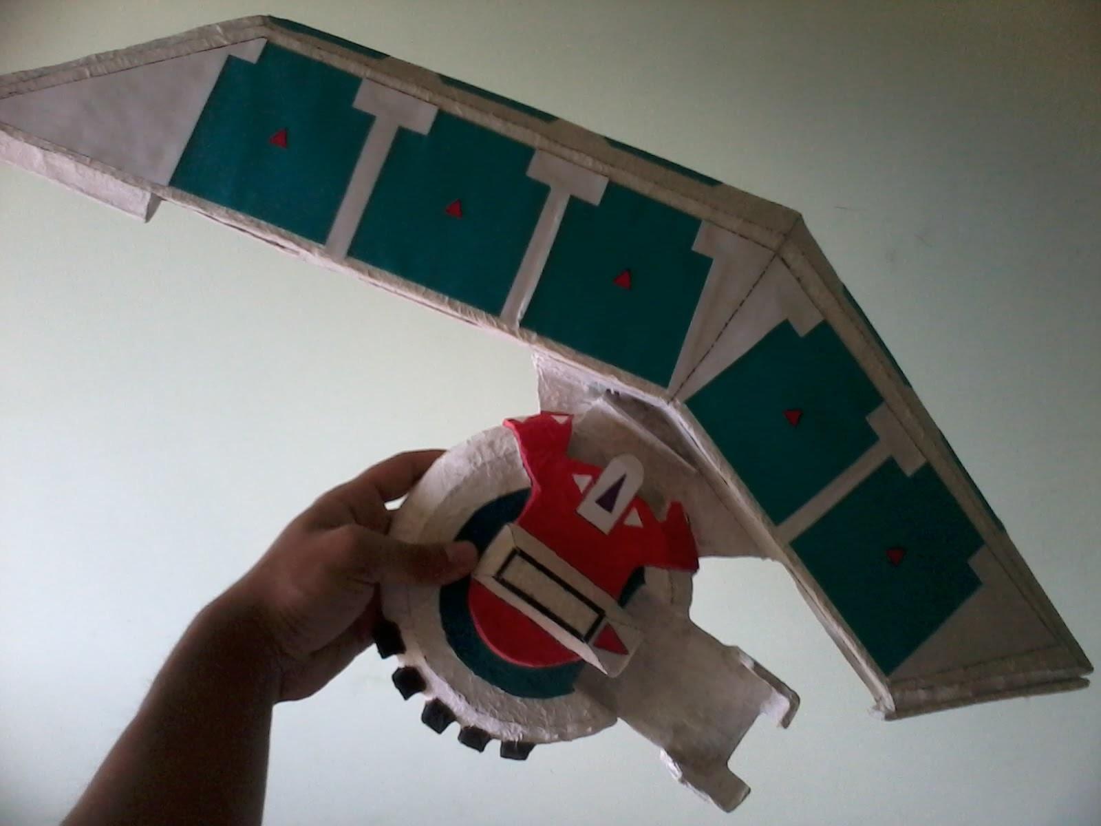 Como Hacer mi Disco de duelo casero! (my homemade duel disk!)