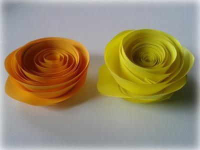 Como hacer rosas de papel | Manualidades para San Valentín :3