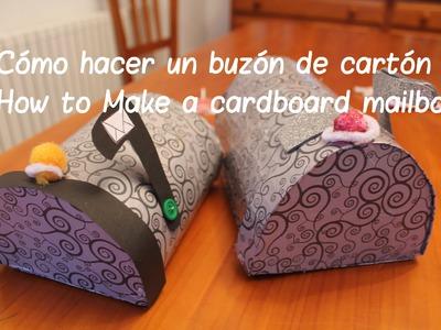 Cómo hacer un buzón de cartón - How to Make a cardboard mailbox - Ahorradoras.com