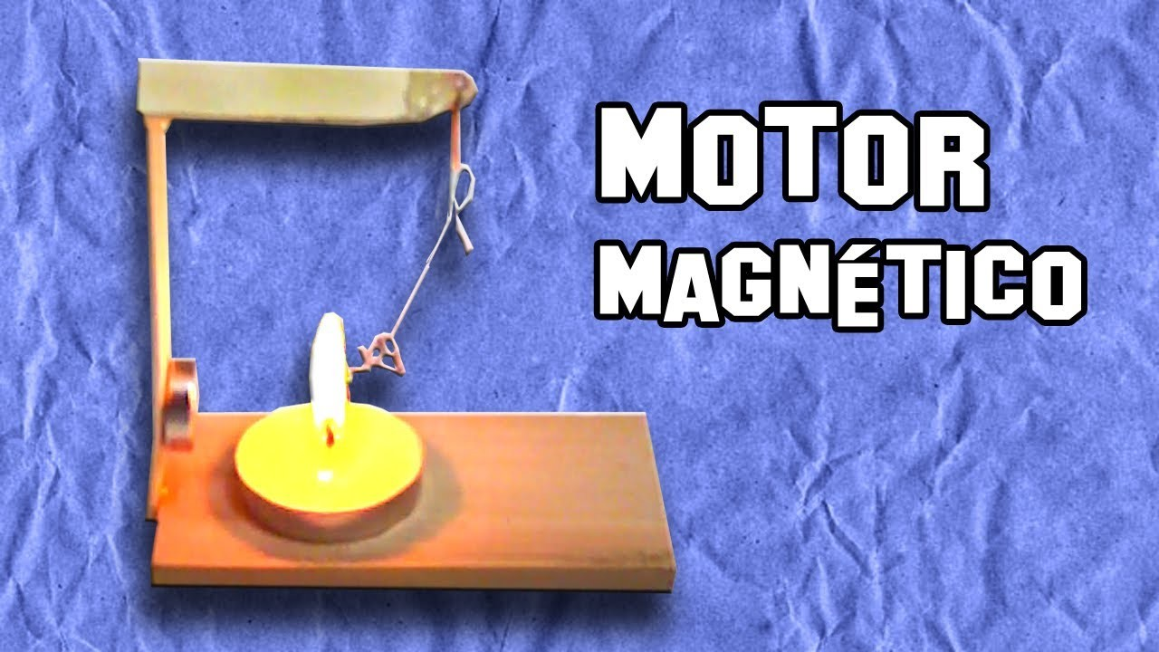 Como Hacer un Motor Magnético de Efecto Curie | How to Make a Curie Effect Magnetic Motor