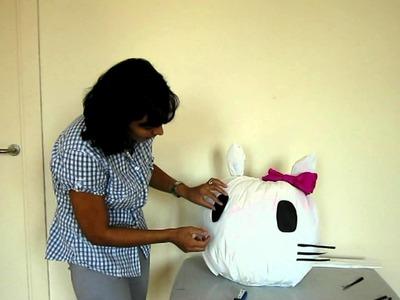 Cómo hacer una piñata (parte 3)