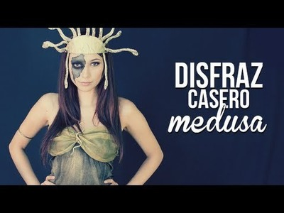 Disfraz y maquillaje: Medusa!