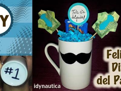 DIY: Taza personalizada para el Dia del  padre