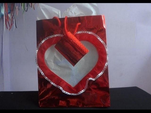 """Episodio 12 """"Bolsa de regalo para día de San Valentin"""""""