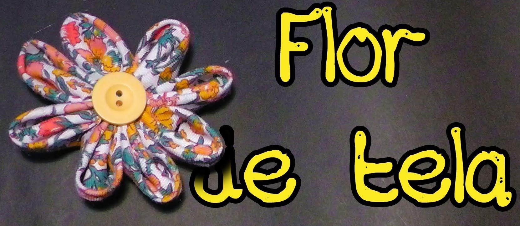Flor de tela || Complementos y accesorios hechos a mano