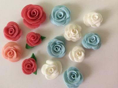 Flores De Cerámica En Frío, Super Fáciles