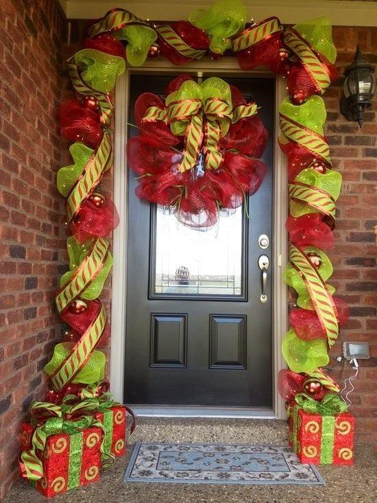 Ideas Decoración Exterior Navidad