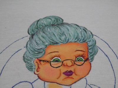 Pintura en Tela - Abuelita Parte 1