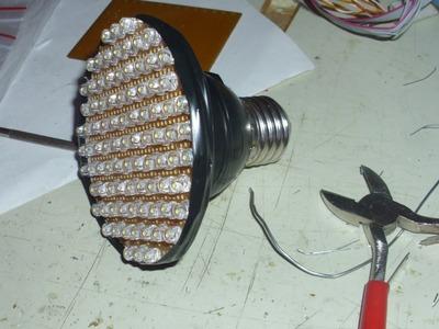 ProyectosLed #10: lampara led 220v casera, parte 1