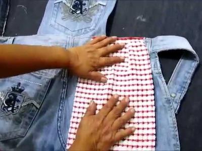 Reciclaje de Jeans: Ideas para confeccionar