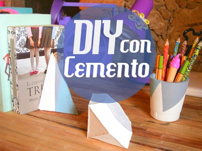 Regalo super original - DIY usando cemento