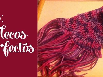 Tip: Flecos perfectos para tu bufanda