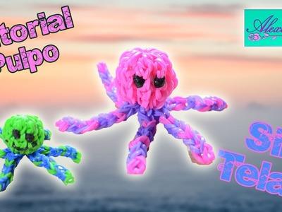 ♥ Tutorial: Pulpo de gomitas en 3D (sin telar) ♥