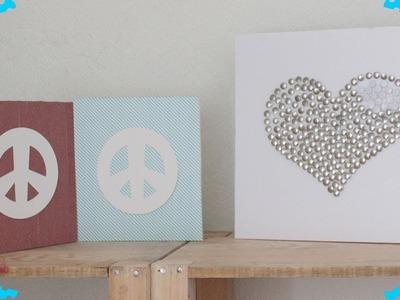 2 ideas de Cuadros Decorativos - Colaboración. BigCrafts