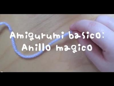Amigurumi básico :  Anillo mágico