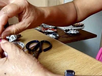 Collares con anillas de latas (taps)
