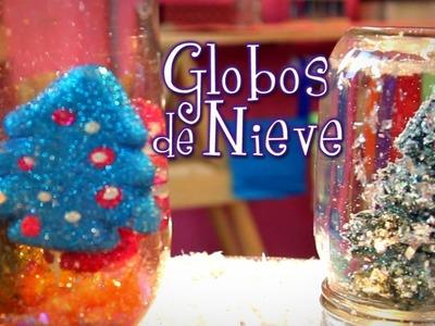Cómo hacer lindísimos globos de nieve súper fácil! Idea Lab - Raiza Revelles