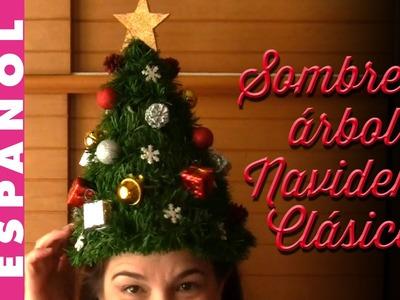 Comó hacer Sombrero árbol de Navidad clásico