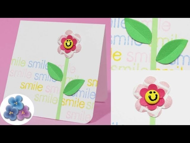 Como hacer una Tarjeta Amistad DIY Hacer Tarjetas Amigas *Friend Card*  Invitaciones Pintura Facil