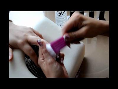 Como hacer uñas con Esmaltes Permanentes, Gel Laca de Economicnails,Esmaltado Permanente