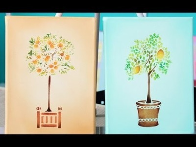 Como pintar cuadros pequeño formato  - Claudia Kunze