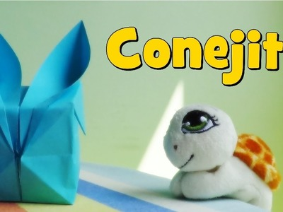 Conejo Hinchable de Papel - Origami
