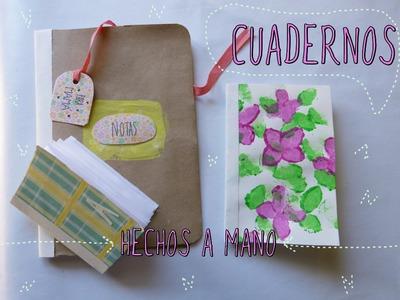 Cuadernos  hechos a mano y decorados por ti  (manualidad día de la madre 2015)