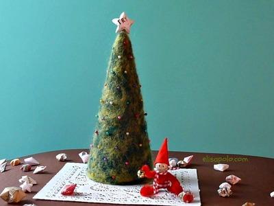 DIY Cómo hacer un  Árbol de Navidad, Christmas Tree