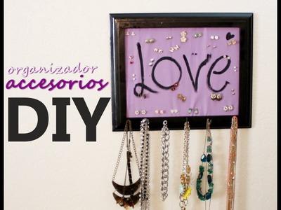 DIY♥HTM! Organizador de accesorios