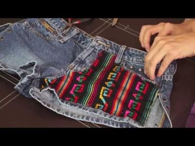 DIY !! SHORT CON ESTAMPADO | BriandaRubio